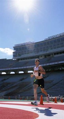 REthinkers will be stationed around the Ironman route, who knows you could be in Camp Randall!