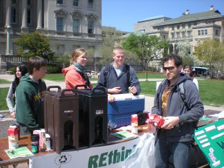 Throwback Thursday! This photo of Mugs on the Mall with some early REthinkers. What a great tradition!